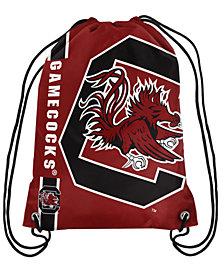 Forever Collectibles South Carolina Gamecocks Big Logo Drawstring Bag