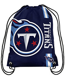Forever Collectibles Tennessee Titans Big Logo Drawstring Bag
