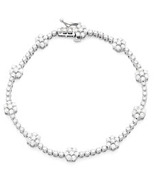 Wrapped in Love™ Diamond Bracelet (3 ct. t.w.) in 14k White Gold, Created for Macy's
