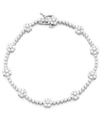 Wrapped In Love Diamond Bracelet 3 Ct T W In 14k White Gold