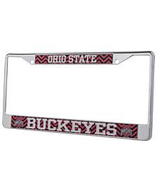 Stockdale Ohio State Buckeyes Chevron License Plate Frame