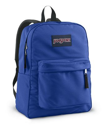 Jansport Superbreak Backpack, Blue Streak - Backpacks - Luggage ...