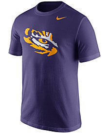 Nike Men's LSU Tigers Logo T-Shirt
