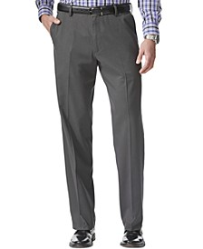 Men's Comfort Relaxed Fit Khaki Stretch Pants