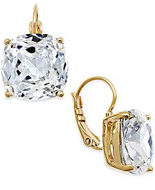 kate spade new york Crystal Small Drop Earrings