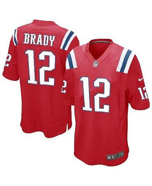 new styles 40576 a7f7b Nike Men's Tom Brady New England Patriots Limited Jersey ...