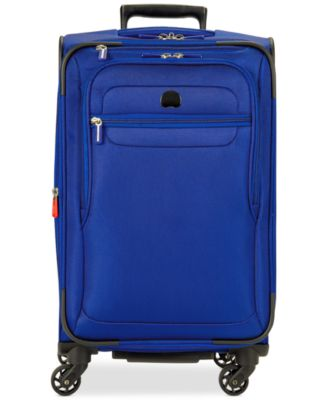 "Image of CLOSEOUT! Delsey Helium Fusion 21"" Expandable Spinner Suitcase, Only at Macy's"