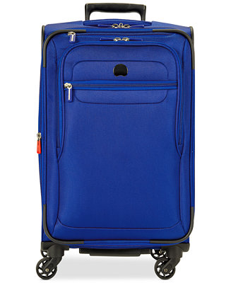 Closeout delsey helium fusion 29 expandable spinner for Wedding dress garment bag for air travel