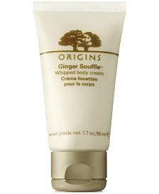 Origins Ginger Souffle Whipped Body Cream, 1.7 oz