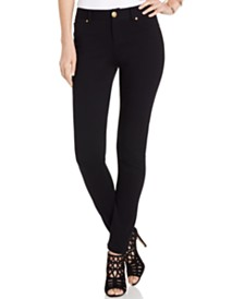 I.N.C. Petite Curvy-Fit Ponté Skinny Pants, Created for Macy's