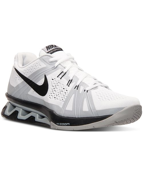 Nike Men s Reax Lightspeed Training Sneakers from Finish Line ... 16a9a21ee