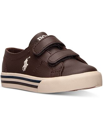 Polo Ralph Lauren Toddler Boys' Scholar EZ Casual Sneakers ...