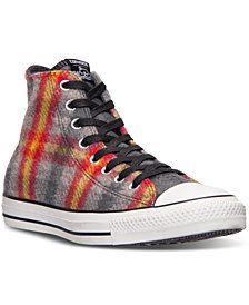 Converse Men's Chuck Taylor All Star Hi Woolrich Casual Sneakers from Finish Line