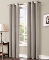 "Sun Zero Gaylen 40"" x 84"" Blackout Grommet Curtain Panel"