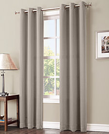 "Sun Zero Preston 40"" x 63"" Blackout Grommet Curtain Panel"
