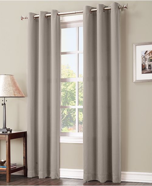 Preston 40 X 63 Blackout Grommet Curtain Panel
