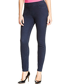 HUE® Women's  Curvy Fit Jeans Leggings