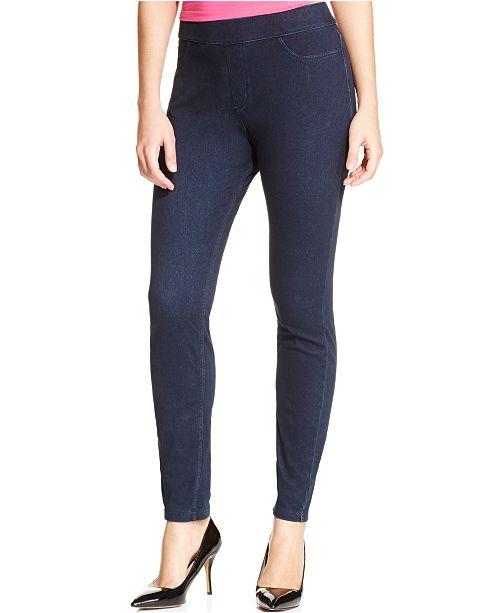 cff903212a295 Hue Women's Curvy Fit Jeans Leggings & Reviews - Handbags ...