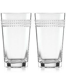 kate spade new york Wickford Highball Glasses, Set of 2