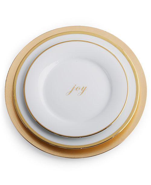 Enjoyable Charter Club Grand Buffet Gold Dinnerware Collection Interior Design Ideas Jittwwsoteloinfo
