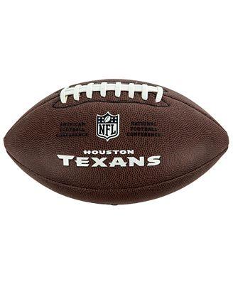 Wilson Sport Houston Texans Composite Football