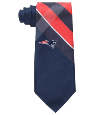 New England Patriots Woven Grid Tie