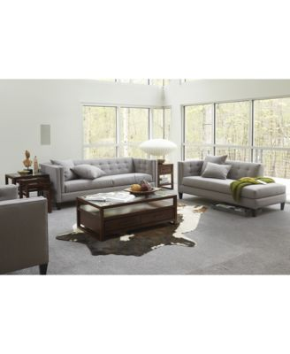 Braylei Track Arm Sofa With 3 Toss Pillows, Created For Macyu0027s