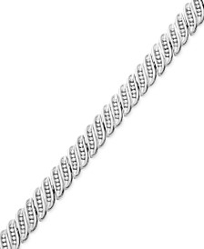 Diamond Tennis Bracelet in 10k White Gold or Gold (1 ct. t.w.)