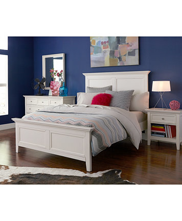 Sanibel 3-Piece Full Bedroom Set, Created for Macy\'s, with Chest ...