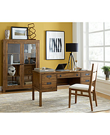 CLOSEOUT! Champagne Home Office Furniture Collection, Created for Macy's