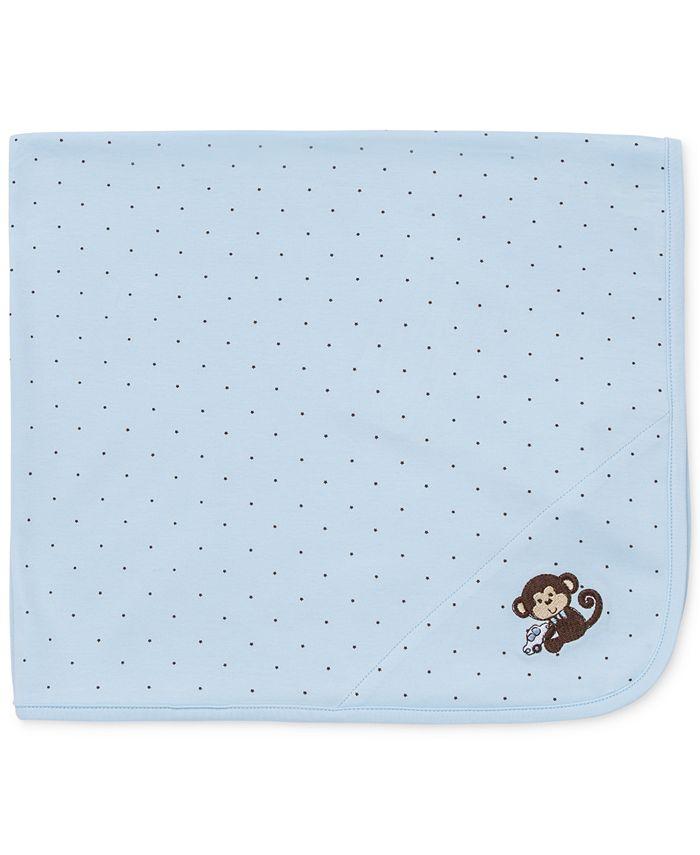 Little Me - Baby Monkey Blanket