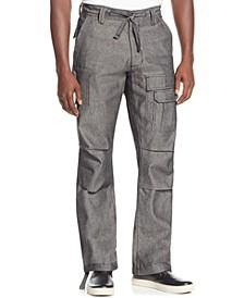 Men's Pleat Pocket Flight Cargo Pants, Created for Macy's