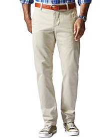 Dockers Men's Athletic Fit Alpha Khaki Stretch Pants