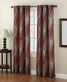 living room curtains. Lichtenberg Intersect Printed Grommet Curtain 48  x 84 Panel Living Room Curtains and Drapes Macy s