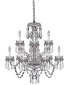 Cranmore 9 Arm Chandelier Crystal Ceiling Lighting