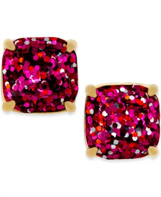kate spade new york Gold-Tone Small Square Stud Earrings