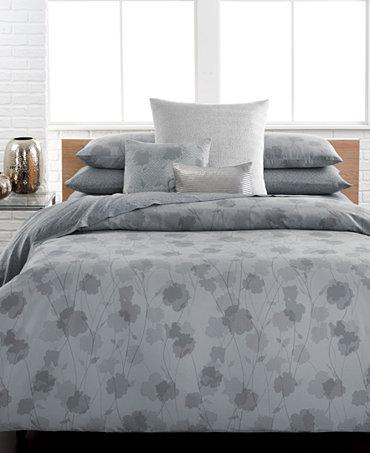 Closeout calvin klein viola bedding collection bedding Calvin klein bedding