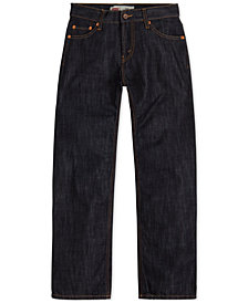 Levi's® 514™ Straight Fit Jeans, Big Boys Husky