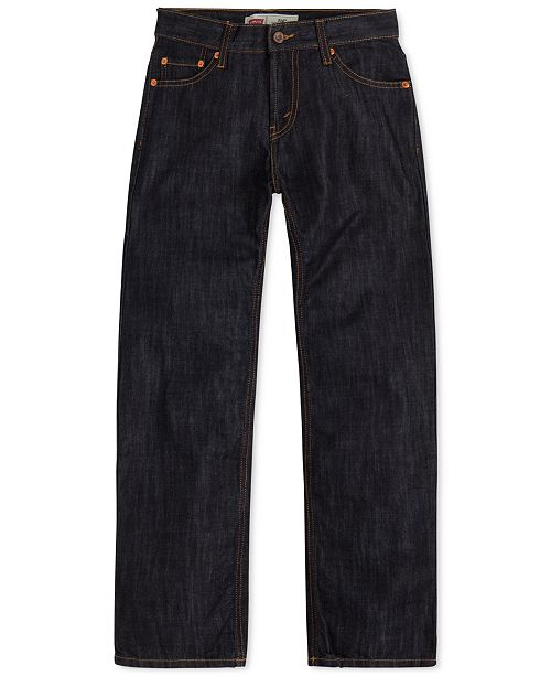 Levi's 514™ Straight Fit Jeans, Big Boys Husky