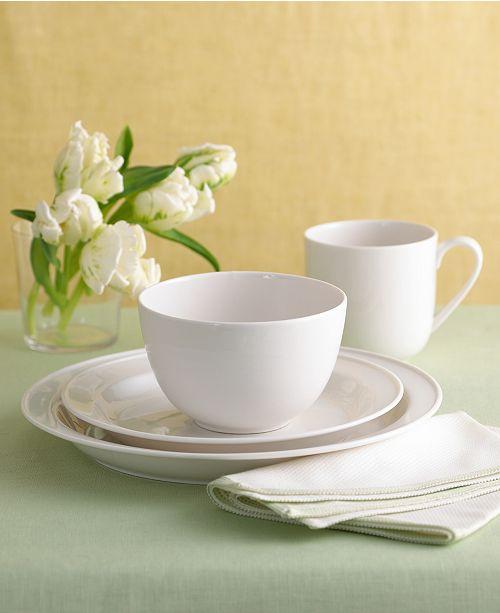 """Martha Stewart Collection """"Montmartre"""" Whiteware Dinnerware Collection"""