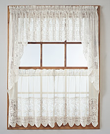 Lichtenberg Joy Lace Tier & Valance Collection