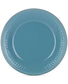 Dinnerware Stoneware French Perle Groove Bluebell Dinner Plate, Created for Macy's