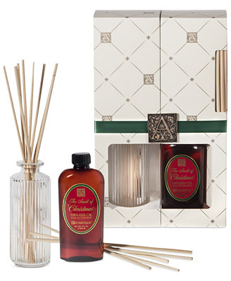 Aromatique holiday reed diffuser candles amp home fragrance for the