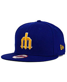 New Era Seattle Mariners 2 Tone Link Cooperstown 9FIFTY Snapback Cap
