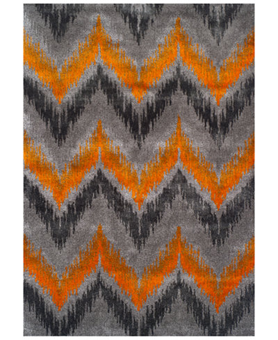CLOSEOUT! Dalyn Modern Abstracts Chevron Tangerine 3'3