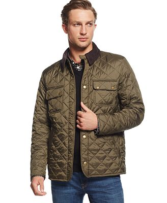 Barbour Tinford Quilted Jacket - Coats & Jackets - Men - Macy's