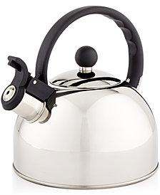 Martha Stewart Essentials 1.5-Qt. Stainless Steel Tea Kettle, Created for Macy's