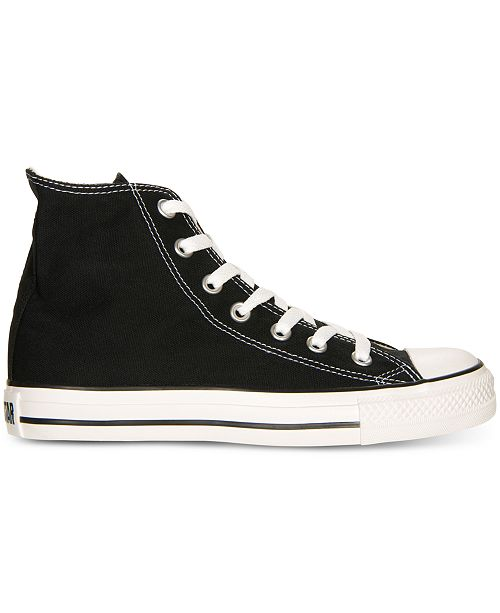 41de29340ece60 ... Converse Women s Chuck Taylor All Star High Top Sneakers from Finish ...
