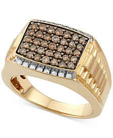 Men's Diamond Ring (1 ct. t.w.) in 10k Gold