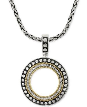 Effy Diamond Circle Pendant...